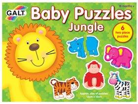 Puzzles Baby Jungla