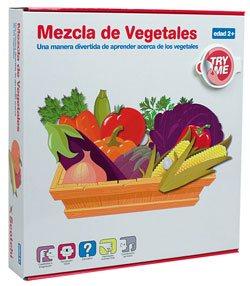 Puzzle Velcro Mezcla de vegetales
