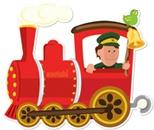 Detalle El tren del pueblo