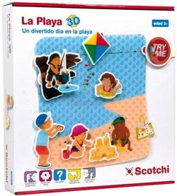 Puzzle Velcro La playa