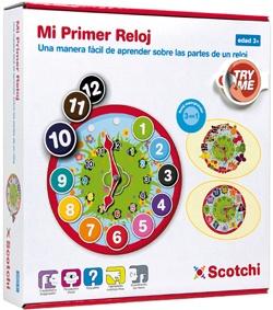 Puzzle Velcro Mi primer reloj