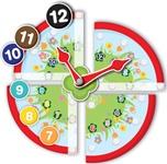 Detalle Puzzle Velcro Mi primer reloj