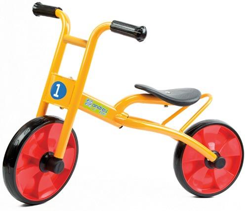 Bicicleta sin pedales balance
