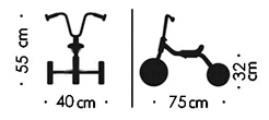 Bicicleta sin pedales balance para guardería detalle 1