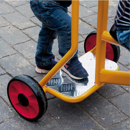 Triciclo gigante 3-7 años detalle 2