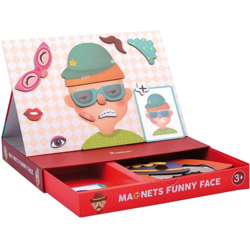 Caras magnéticas divertidas 56 piezas detalle 1