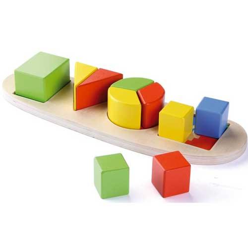 Aprender formas geométricas 11 pz madera