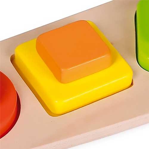 Encaje formas y color 9 pz madera detalle 1