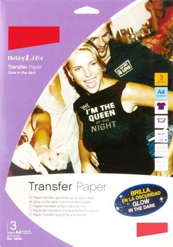 Transfer fluorescente 3 ud