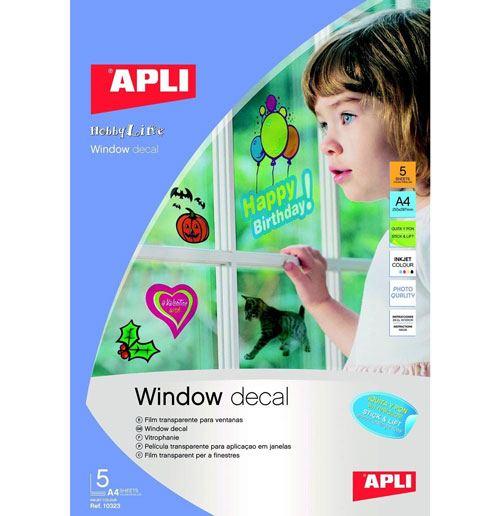 Transfer para decorar ventanas 5 ud