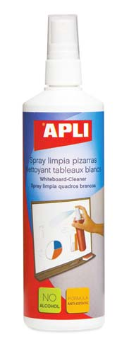 Spray limpia-pizarra blanca 250 ml