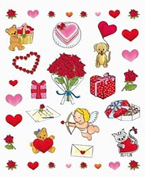 Gomets San Valentín