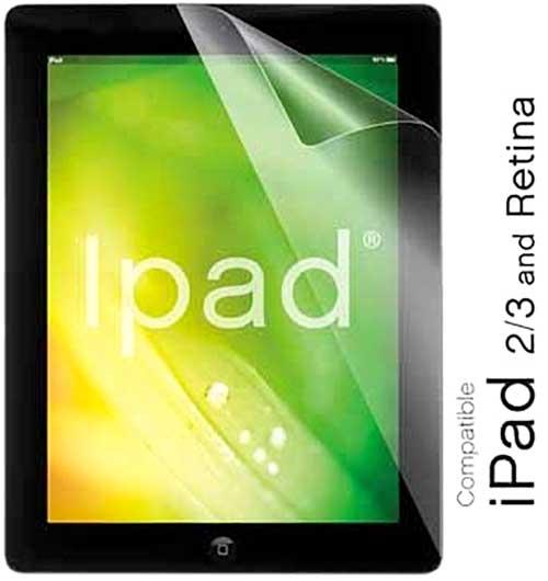 Protector pantallas iPad 1 hoja
