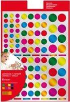 Gomets multicolor círculos Metalizados