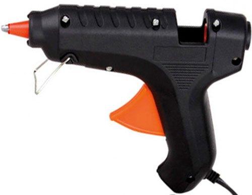 Pistola de cola 40W + 2 barras de cola