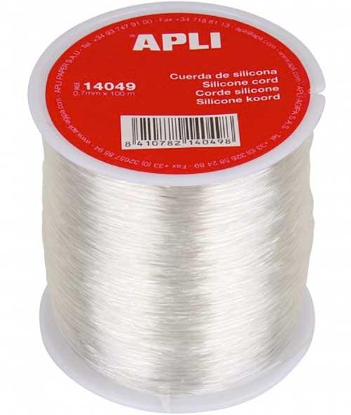 Cuerda de silicona bobina 100 metros