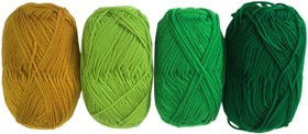 Ovillos gama verde