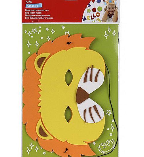 Máscara en EVA león