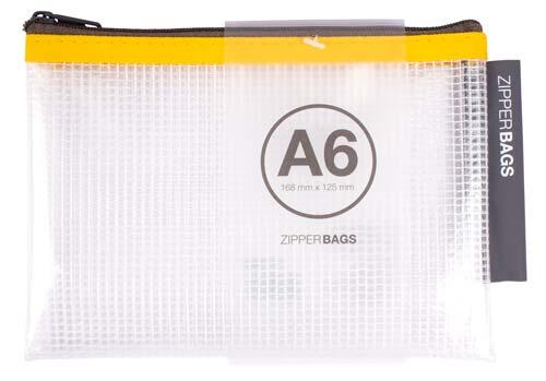 Bolsa con cremallera 168 x 125 mm Colores surtidos