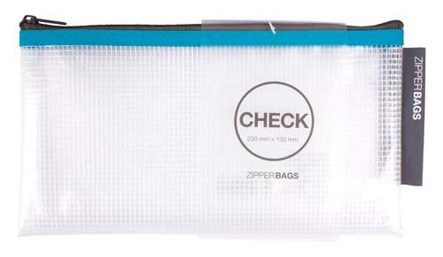 Bolsa con cremallera 230 x 130 mm Colores surtidos