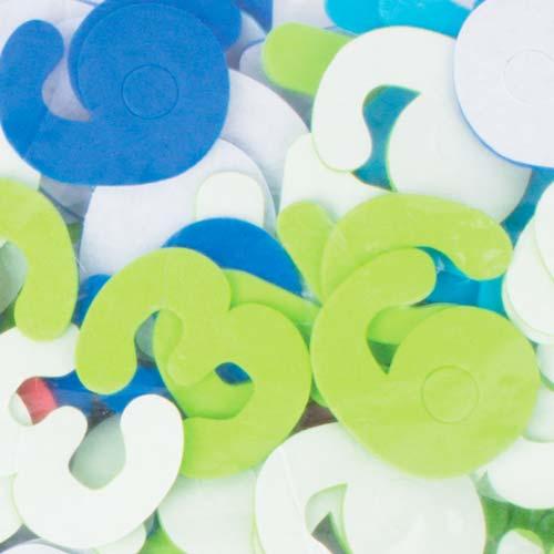 Formas de goma eva adhesiva Números 500 ud