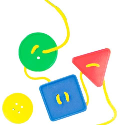 Botones ensartables 48 ud