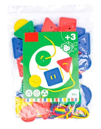 Botones ensartables 48 ud detalle 1