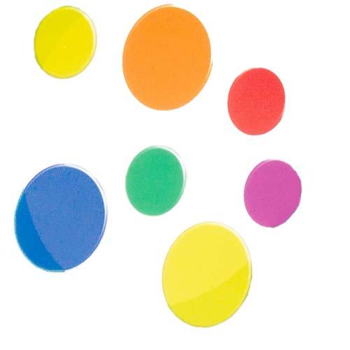 Piezas para contar Colores surtidos 500 ud
