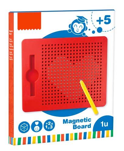 Pizarra magnética + lápiz + 10 fichas con ejemplos detalle 1