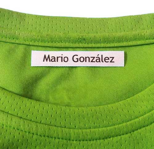 Etiquetas identificativas cinta 3 m detalle 1