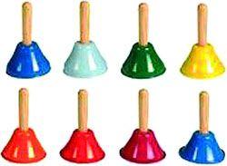Campanillas 8 notas color
