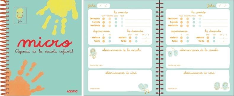 Agenda Micro escuela infantil (0-3 años) detalle 2