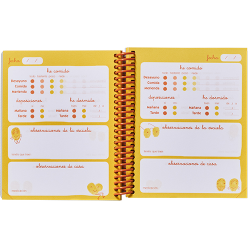 Agenda Micro escuela infantil (0-3 años) detalle 3