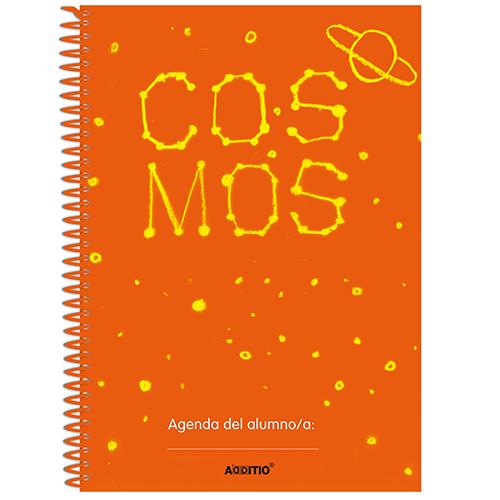 Agenda escolar COSMOS espiral detalle 2