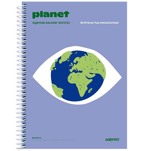 Agenda escolar PLANET detalle 3