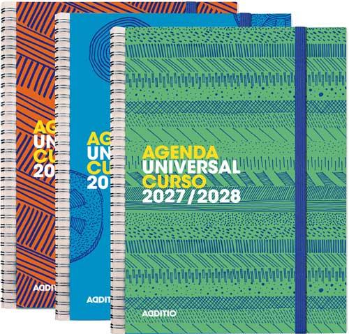 Agenda escolar UNIVERSAL