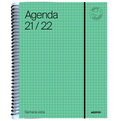 Mini Agenda escolar UNIVERSAL Semana vista detalle 4