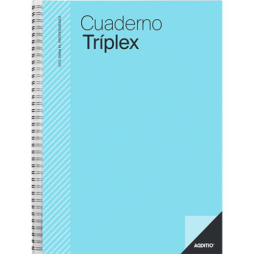 Cuaderno triplex Additio detalle 2