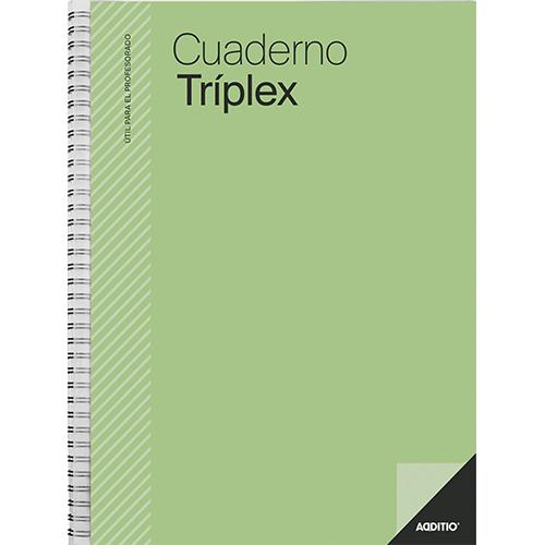 Mini Cuaderno triplex Additio detalle 5