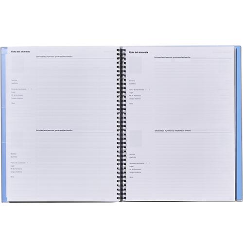 Mini Cuaderno triplex Additio detalle 6