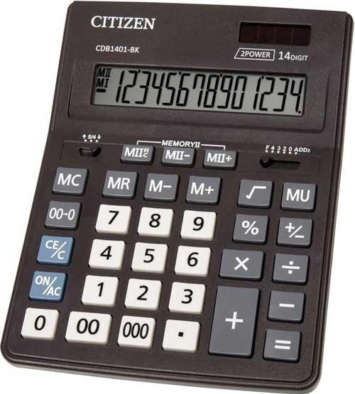 Calculadora sobremesa Citizen CDB14018K