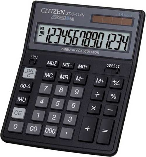 Calculadora sobremesa Citizen SDC414