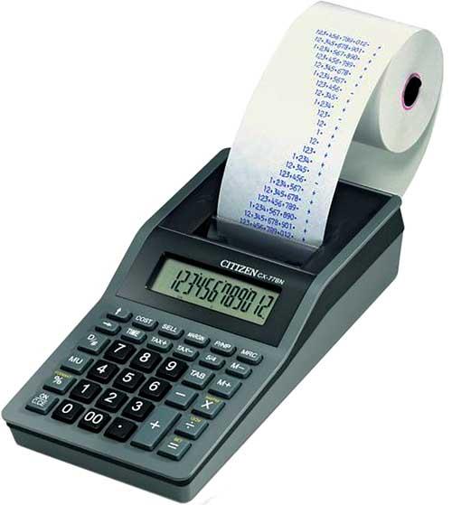 Calculadora sobremesa CX77 12 dígitos