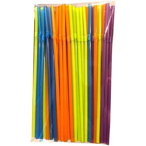 Pajitas de colores 50 ud detalle 3