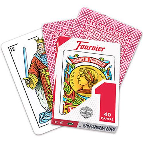Baraja española Fournier nº1, 40 cartas en caja