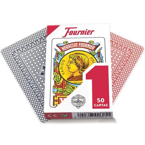 Baraja española Fournier nº1, 50 cartas