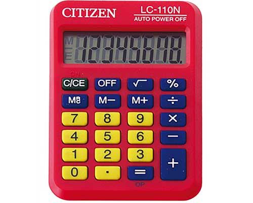 Calculadora Citizen LC110 8 dígitos