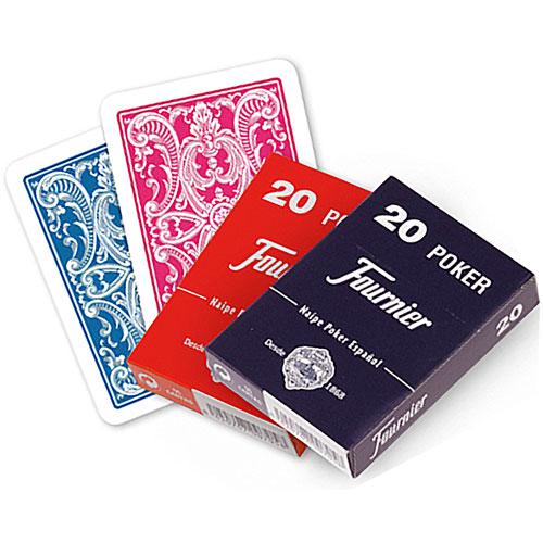 Baraja Póker español Fournier nº 20, 55 cartas