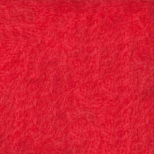 Fieltro rojo 50x70cm 10 ud