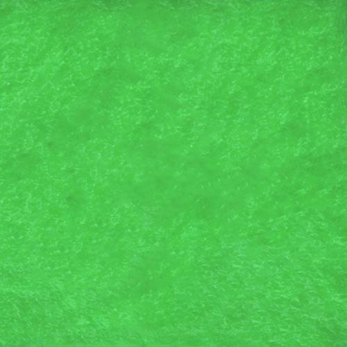Fieltro verde 50x70cm 10 ud